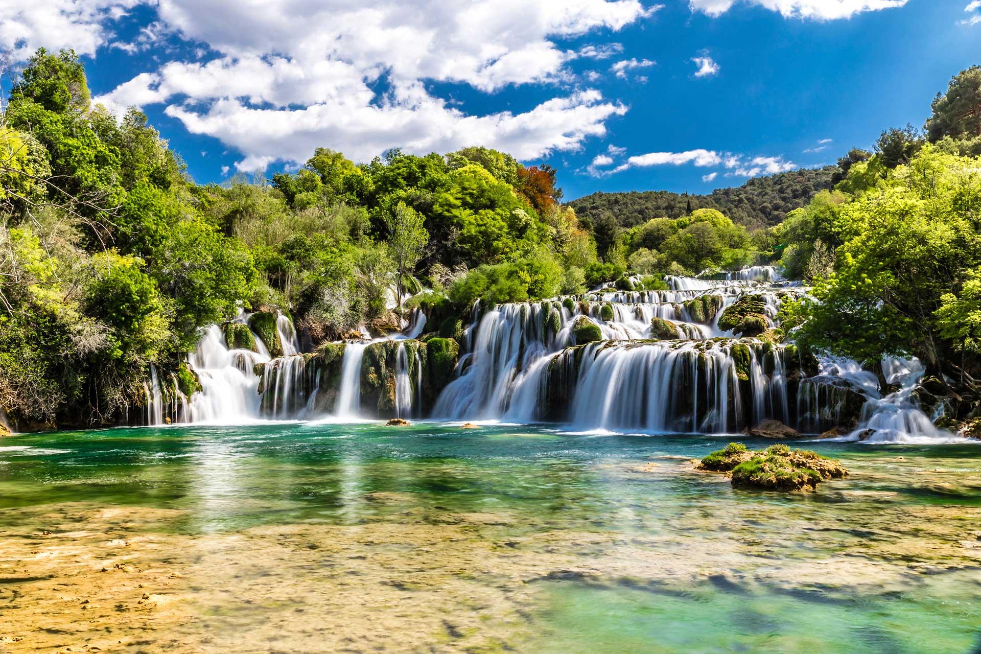 KRK Wasserfälle Kroatien, (c) fotolia.com