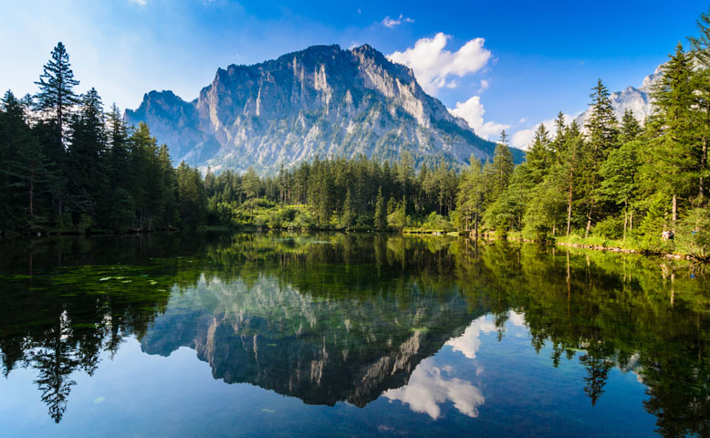 Grner See / Green Lake in Austria