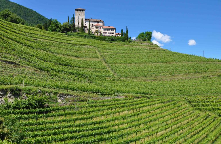 Südtirol, Marlinger Waalweg, Schloss Lebenberg