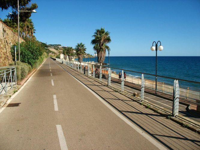 CoteAzur Radweg San remo